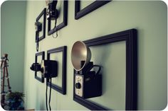 pocketful of pretty: vintage camera display