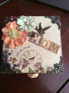 the no measure method to re covering a wooden box cigar boxes pinterest paper mache box. Black Bedroom Furniture Sets. Home Design Ideas