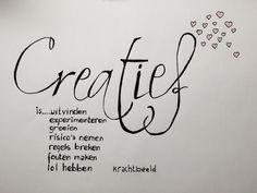 Creativiteit: sleutel tot je hart Www.facebook.com/krachtbeeld