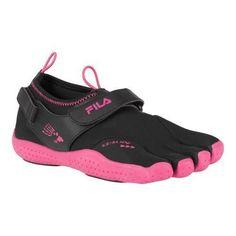 Women's Fila Skele-Toes EZ Slide Drainage /Hot Pink
