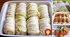 Máte radi plnené kapustové listy – takzvané kapustové holúbky? Vyskúšajte namiesto obyčajnej kapusty použiť čínsku – výsledok je ešte lepší!