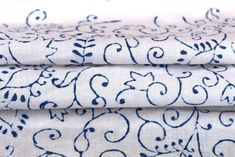 10 YD Cotton Fabric Hippie Craft Sewing Voile Floral Fabric Dressmaking Boho A4 #Handmade