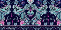 Galeria-Patterns | Lola San Roman  paisley  watercolor  prints