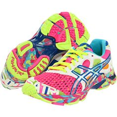 Asics Gel-Noosa Tri 7 (Zappos, These MUST be my new running shoes! Crazy Shoes, New Shoes, Me Too Shoes, Dream Shoes, Asics Gel Noosa, How To Run Faster, Look At You, Free Clothes, Swagg