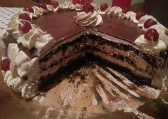 Cake Filling Recipes, Dessert Recipes, Desserts, Cookbook Recipes, Cooking Recipes, Greek Pastries, Greek Sweets, Cake Fillings, Greek Recipes