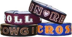 Personalized leather bracelets-wristbands