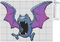 Deviant Art Makibird Pokemon Patterns - 42 Golbat