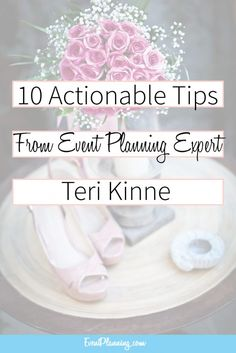 10 Actionable Tips from Event Planning Expert Teri Kinne. How to be an Event Pla… 10 Actionable Tips from Event Planning Expert Teri Kinne. How to be an Event Planner Event Planning Quotes, Event Planning Business, Business Events, Party Planning, Giada De Laurentiis, Interview, Planner Tips, Event Management, Event Venues