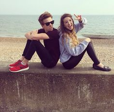 Joe Sugg aka ThatcherJoe and Zoe Sugg aka Zoella.They are the most adorable siblings in the world!