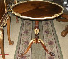 Washington DC: 19th Century Antique Pie Crust Table $395    Http://furnishlyst