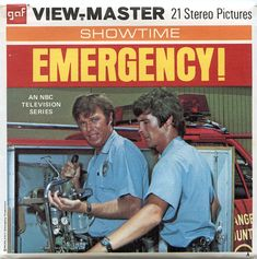 Emergency! Vintage Toys 1960s, Nbc Series, View Master, Those Were The Days, My Childhood Memories, Wonders Of The World, Growing Up, Pop Culture, Nostalgia