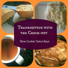 So many ideas for using a Crockpot (or more than one) for Thanksgiving  #crockpots #dealyard