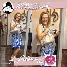 E na Zap Franquias no Polo Shopping Indaiatuba a Poderosa Katia Brooks está arrasando e conferindo todas as novidades da loja!