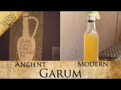 I finally made GARUM | Ancient Rome's favorite condiment - YouTube Fish Benefits, Old Recipes, Vintage Recipes, Recipies, Ancient Recipes, Fermentation Recipes, Cookery Books, Kitchen Witch, Fish Sauce