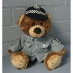 Bear with NSW Police Force Shirt