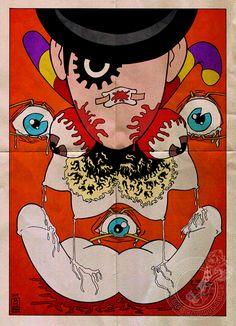 A Clockwork Orange  Art by ~SirJavier
