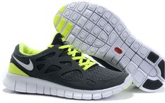 Damen Nike Free Run 2 Schuhe - grau