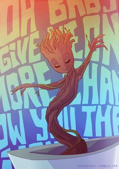 watched Guardians of the Galaxy again...so of course I had to draw this.