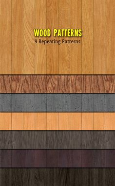 Patterns for web backgrounds..... Wood Patterns Shown