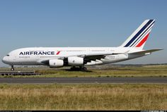 Air France F-HPJA Airbus A380-861 aircraft picture