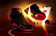 Ecstatic x Nike 2013 by Aaron Campbell, via Behance