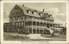 North Falmouth Cape Cod MA Silver Beach Hotel c1910 Postcard in Collectibles, Postcards, US States, Cities & Towns, Massachusetts | eBay
