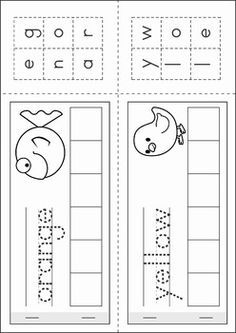 Colors Cut and Pate booklet for preschool and kindergarten.