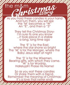 M - Totally just found something for the girls to give at Christmas time for their friends at school- now to remember!!