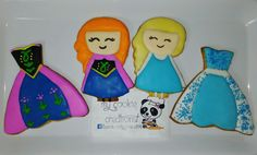 #frozen orden de dias atras! 😍🍪❤❄⛄🌸 #inlove #mycookiecreations #frozencookies #disneyprincess #disney #disneycookies