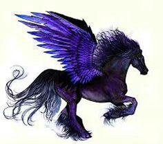 Black Pegasus, my spirit animal