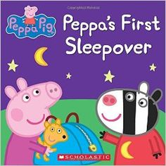 Peppa Pig is going to her very first sleepover at Zoe Zebra's house. Suzy Sheep, Rebecca Rabbit, and Emily Elephant will all be there! But with so much slumber party excitement, will Peppa and her friends be able to fall asleep? Find out in this adorable 8x8 storybook!