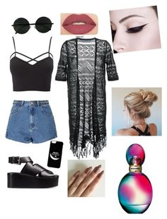 """""""Untitled #429"""" by sofia-boubou on Polyvore featuring Guild Prime, Glamorous, Charlotte Russe, Alexander Wang, Smashbox and Missoni"""