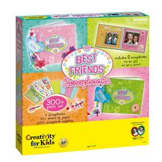 Creativity for Kids Best Friends Scrapbook