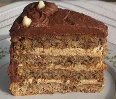 Ukrainian Walnut Torte – serving piece