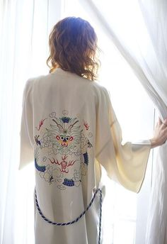 T.Y.T. Kimono | Spanish Moss