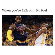 So true!! They should have called some fouls during the finals by LeBron.