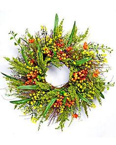 30in Bittersweet Gypso Sweet Huck Wreath
