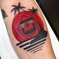 Skull Tattoos, Sexy Tattoos, Body Art Tattoos, Sleeve Tattoos, Cool Tattoos, Garter Tattoos, Feminine Tattoos, Life Death Tattoo, Tribute Tattoos