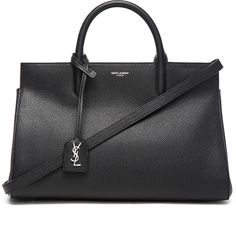 Saint Laurent Small Monogramme Rive Gauche Bag (6.599.740 COP) ❤ liked on Polyvore featuring bags, handbags, yves saint laurent purses, yves saint laurent bag, yves saint laurent, handle bag и zip top bag