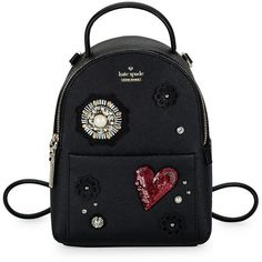 Kate Spade New York Fine Thing Embellished Leather Backpack featuring  polyvore 9326faccf8d1e