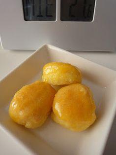 Clases de Cocina Zaragoza: Borrachitos de yema y almíbar. Yema, Cornbread, Ethnic Recipes, Food, Sweets, Deserts, Zaragoza, Millet Bread, Eten