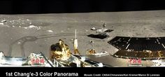 1st 360 Degree Color Panorama from China's Chang'e-3 Lunar Lander - Technology Org