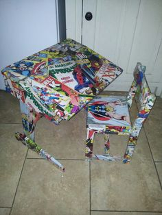 childs marvel superhero desk and chair