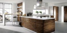 Modern Kitchen Island Design Inspiration - The Best Image Search Luxury Kitchen Design, Best Kitchen Designs, Luxury Kitchens, Interior Design Kitchen, Home Design, Cool Kitchens, Diy Design, Modern Kitchens, Contemporary Kitchens