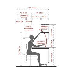 Размещение дополнительной мебели Architecture Details, Interior Architecture, Interior Design, Home Office Design, House Design, Human Dimension, Modular Office, Small Office, Office Interiors