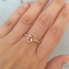 Romantic 14k Rose Gold Plated Round Cut CZ /& Smoky Quartz Halo Wedding Engagement Ring-Flower Primrose Fashion Ring