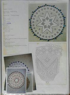 Beaded Crochet, Free Crochet, Crochet Earrings, Goeie Nag, Crochet Dollies, Crochet Kitchen, Lace Doilies, Afrikaans, Dream Catchers