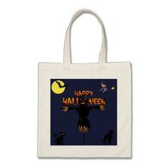 Happy halloween tote bag - Halloween happyhalloween festival party holiday