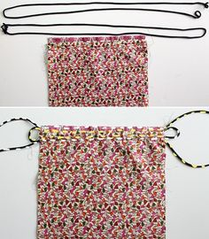 4 meters cording, cut in 2 Easy Sewing Projects, Sewing Projects For Beginners, Knitting For Kids, Sewing For Kids, Clutch Bag Pattern, Drawstring Bag Tutorials, Bag Patterns To Sew, Couture, Purses And Bags