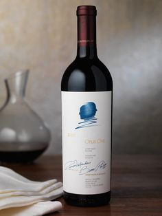 Opus One Wine Package Design by Pate International Wine Bottle Design, Wine Label Design, Opus One, Innovative Packaging, Wine Bottle Crafts, Wine Bottles, Different Wines, Wine Photography, Wine Brands